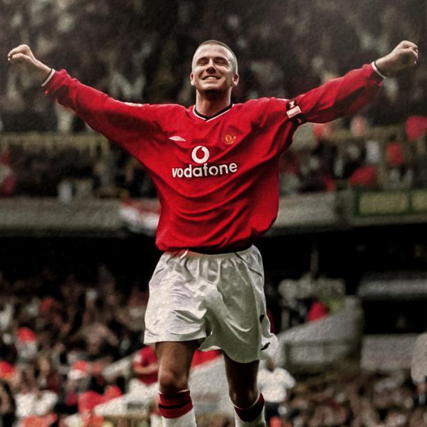 David Beckham Man Utd Legends Profile Manchester United