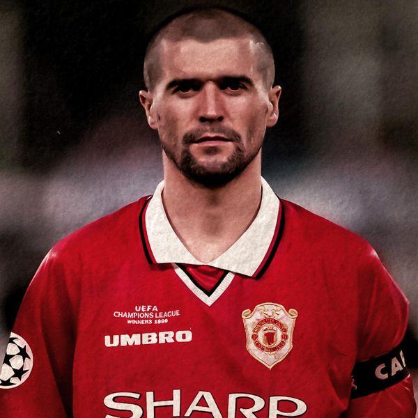 Roy Keane Man Utd Legends Profile Manchester United