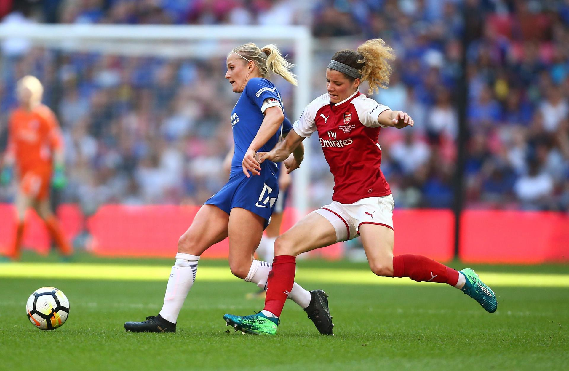 Chelsea v Arsenal in the Women's FA Cup final