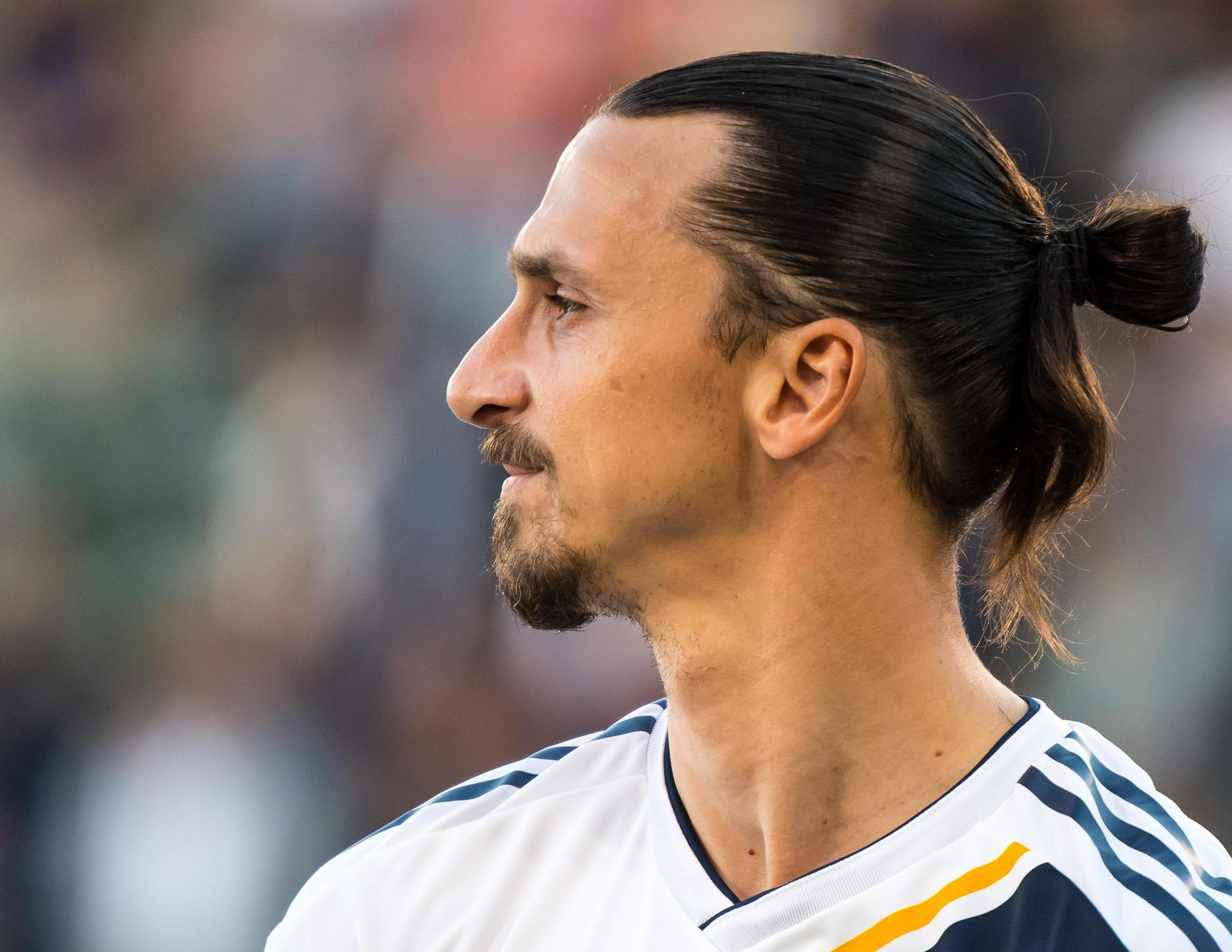 Zlatan Ibrahimovic in action for LA Galaxy.