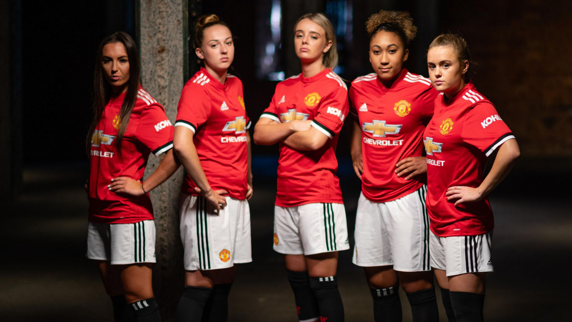 Behind the scenes at the launch of the Manchester United Women squad | Manchester  United