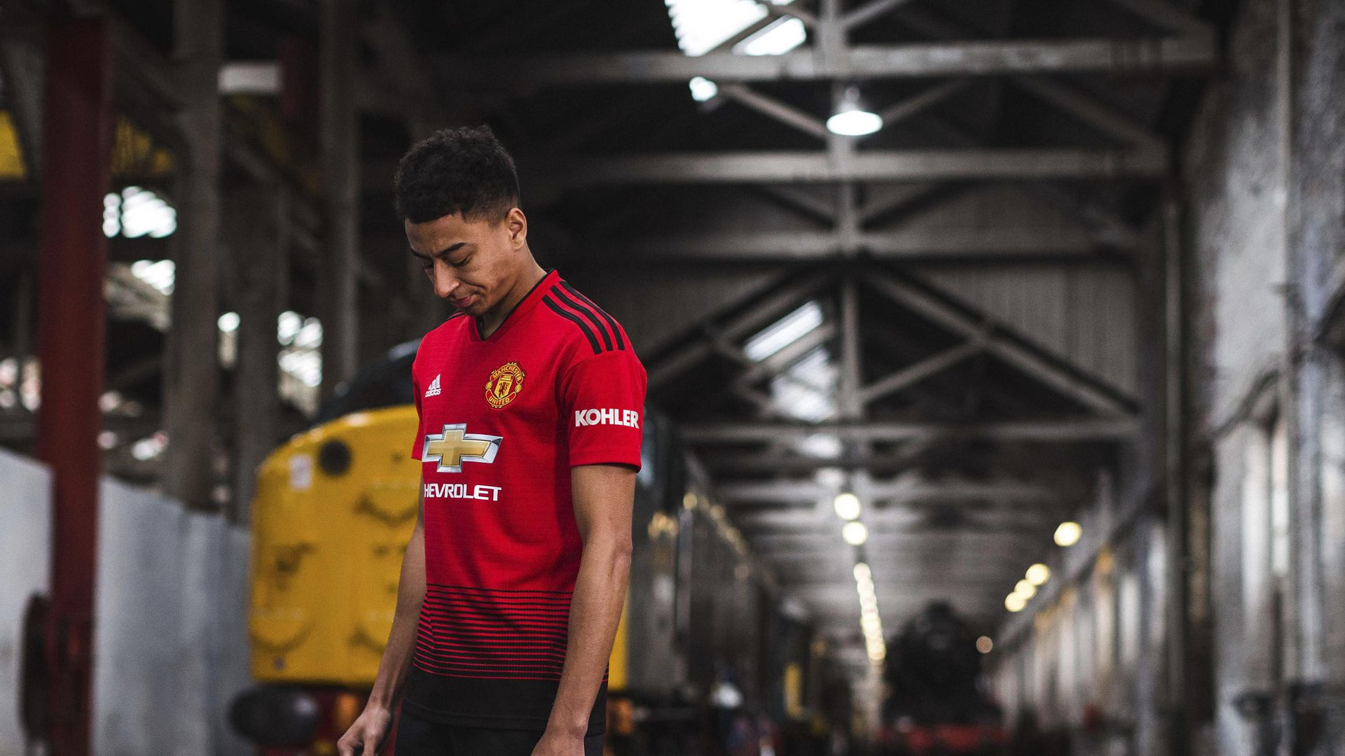 Adidas Reveals New Manchester United Home Kit For 2018 19 Season Manchester United