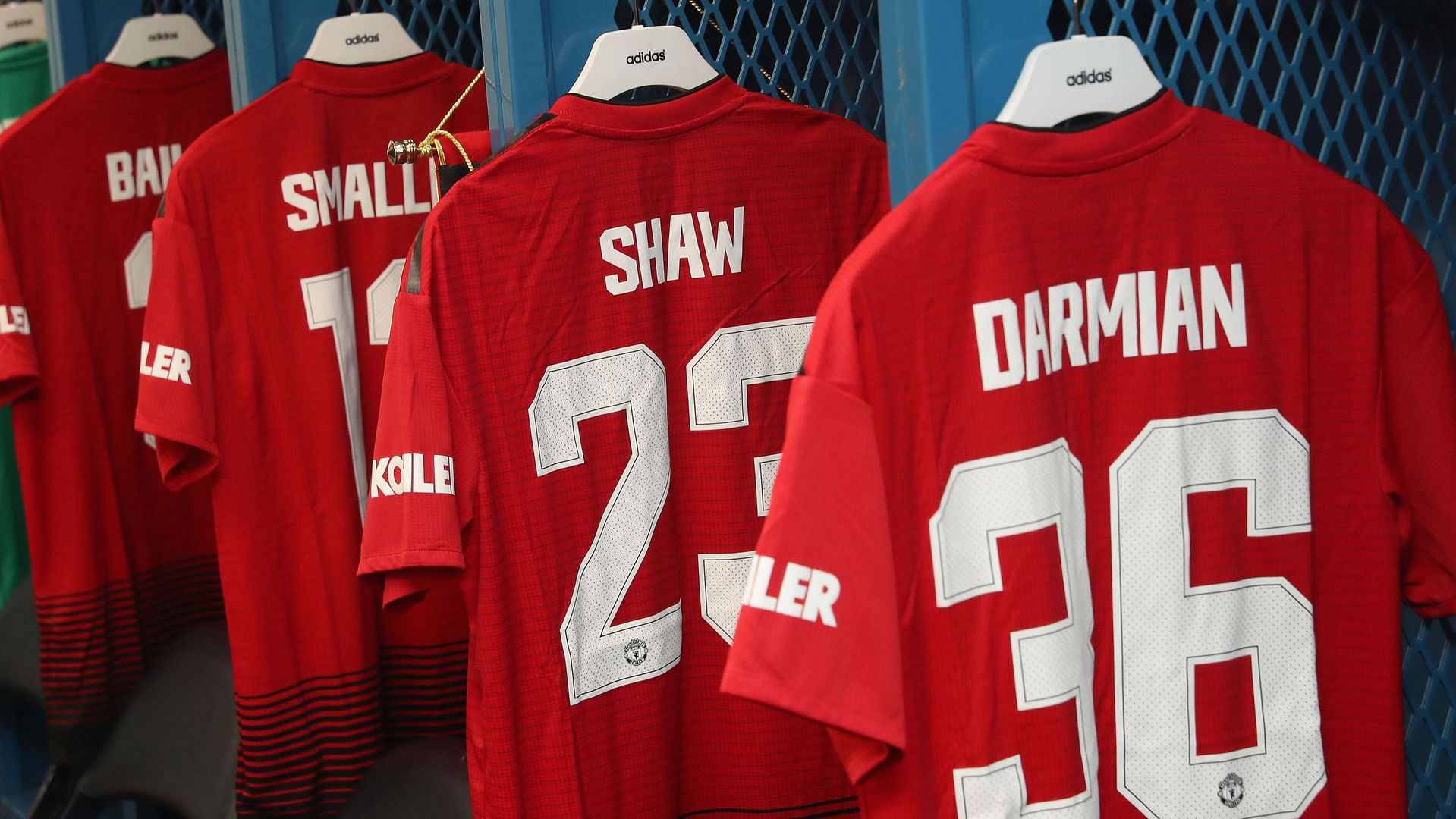 Man Utd Announce Squad Numbers For 2018 19 Manchester United