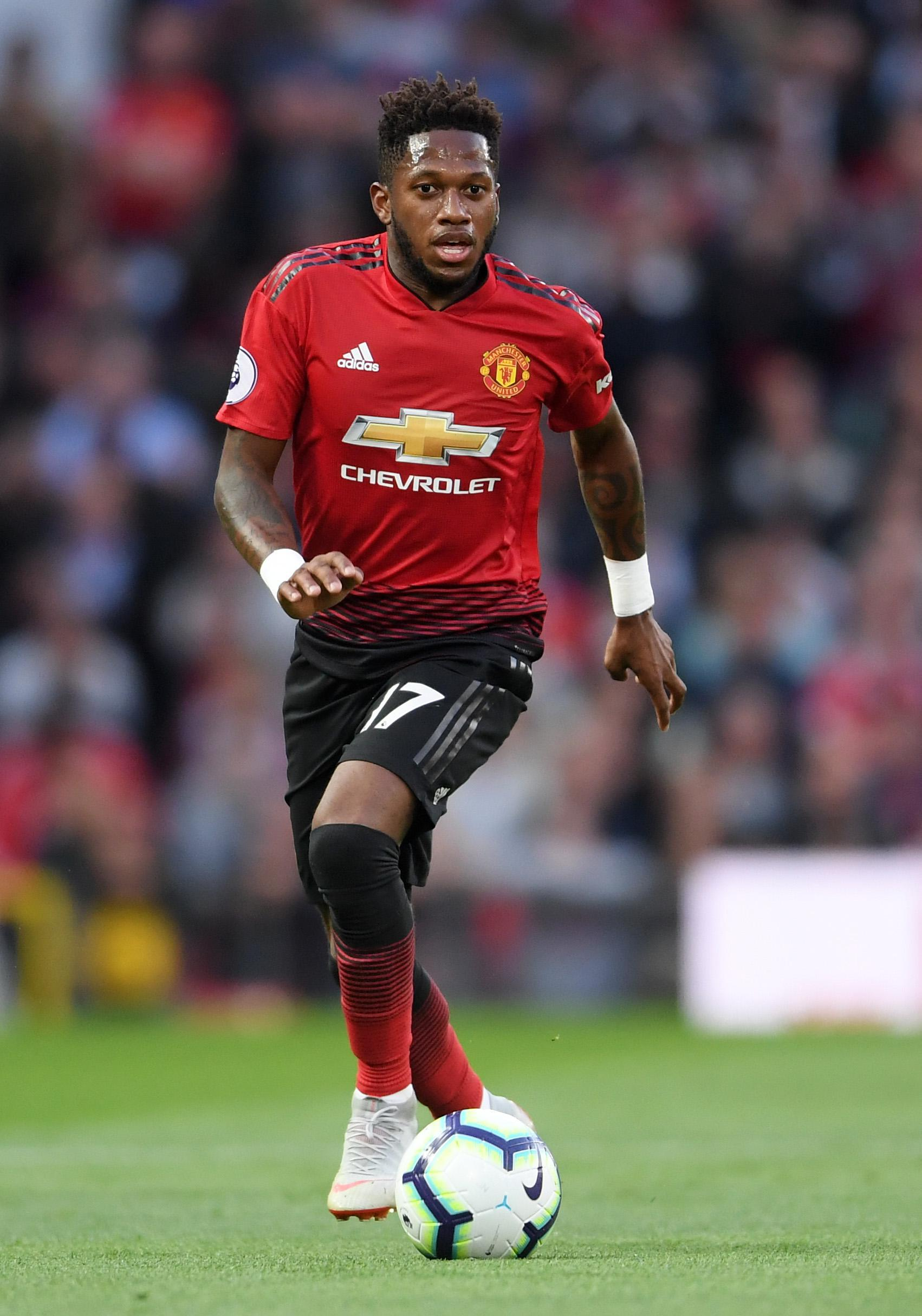 Fred on the ball for United