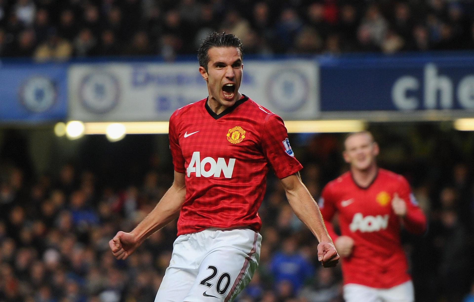 Gallery 20 images of Robin van Persie from the 201213 season   Manchester  United