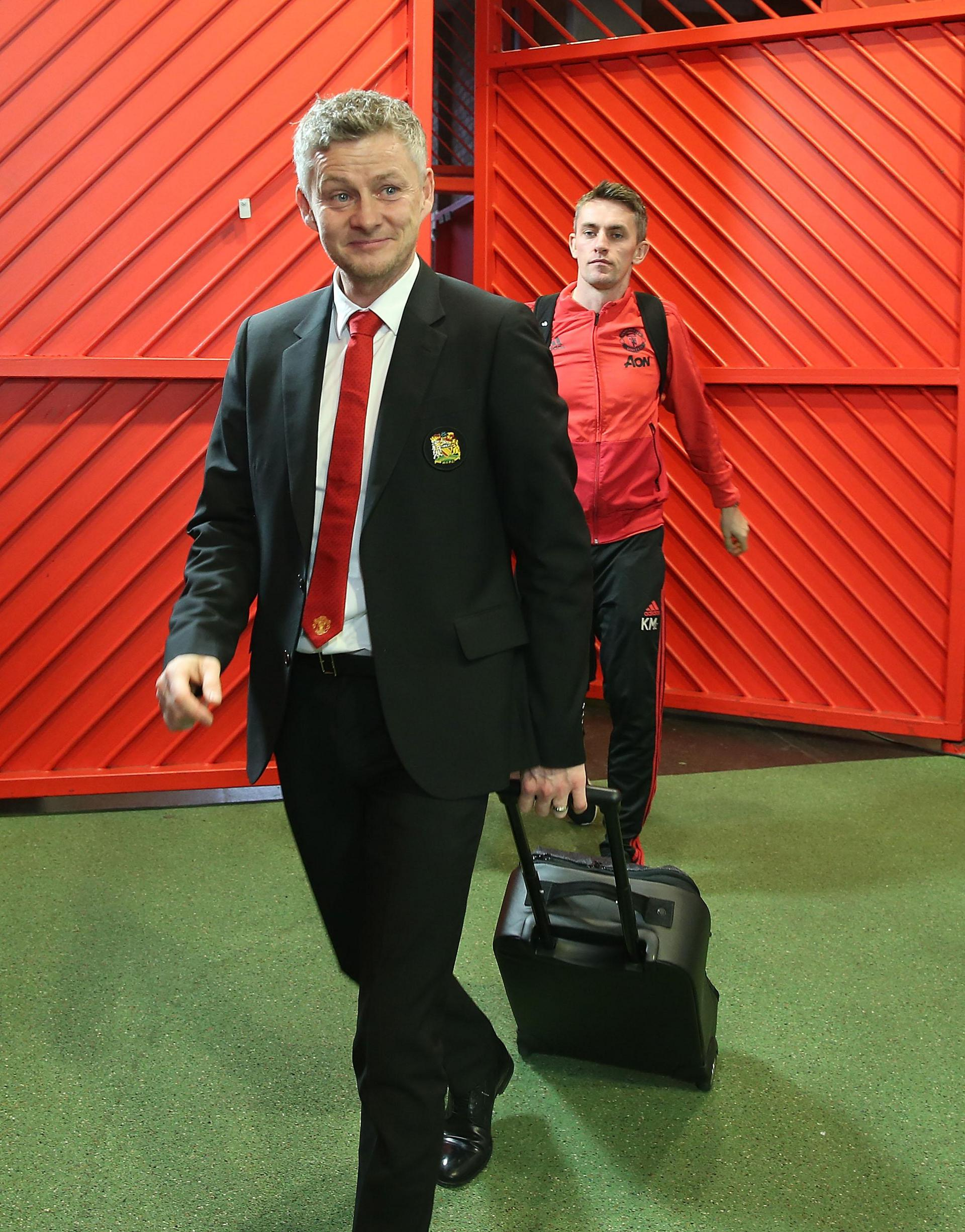 Ole Gunnar Solskjaer has named his United team to face Reading