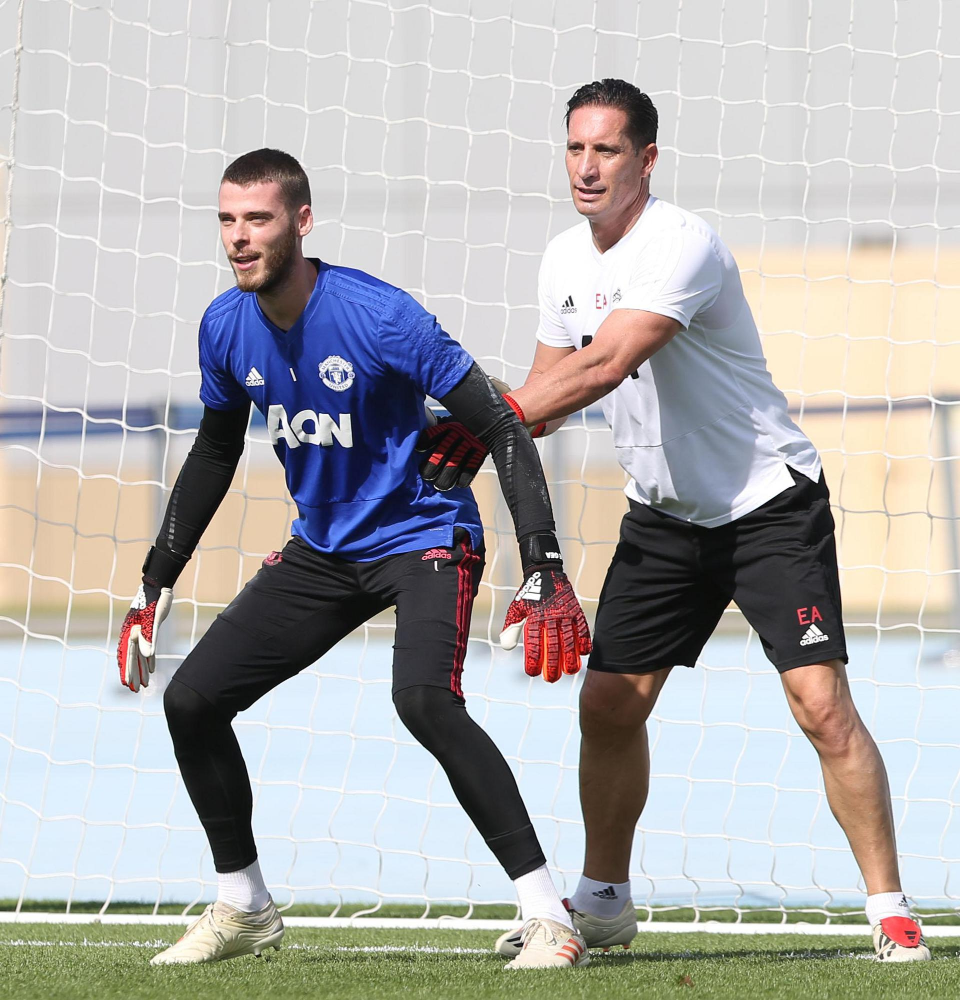 David De Gea and Emilio Alvarez.