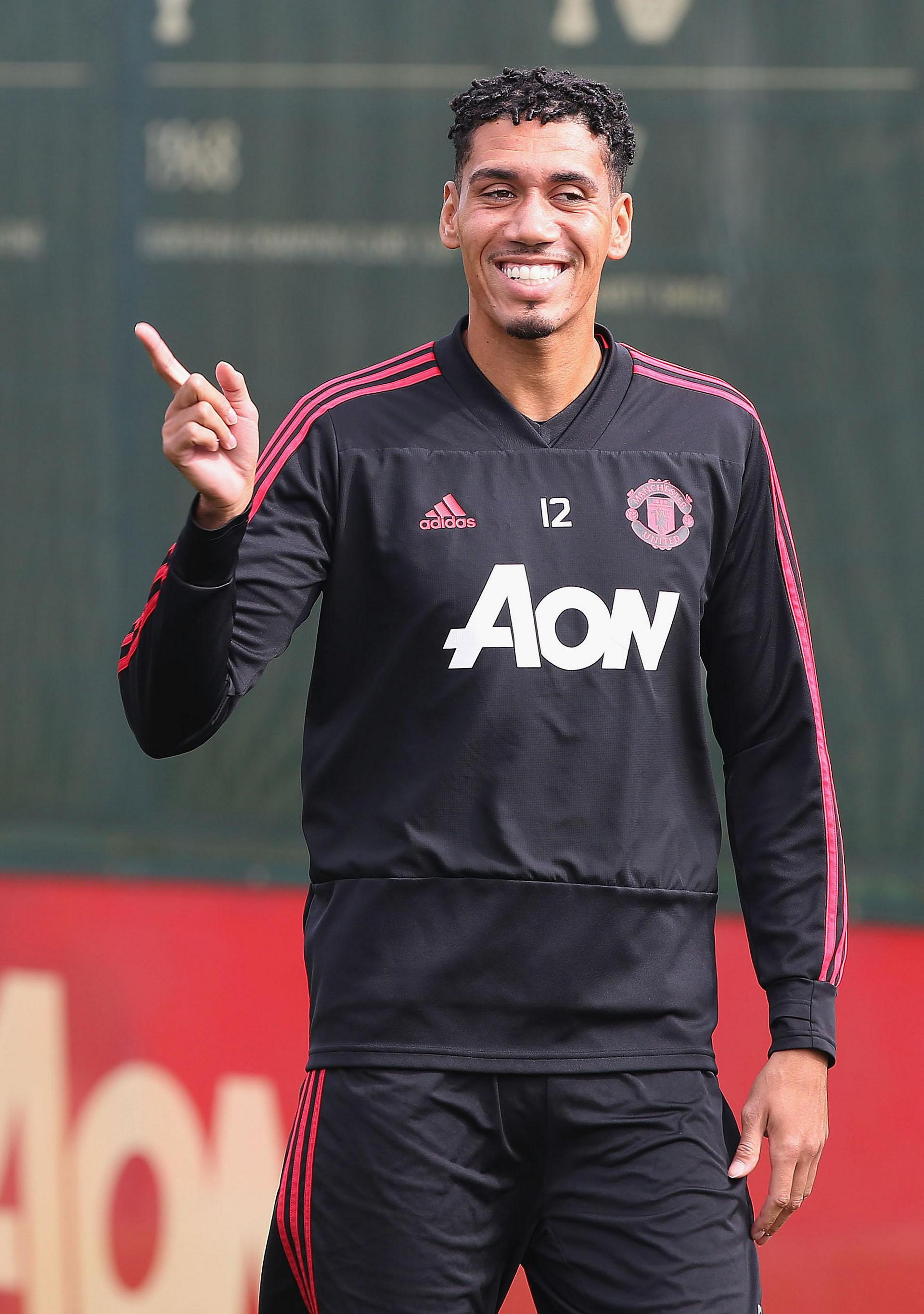Chris Smalling.