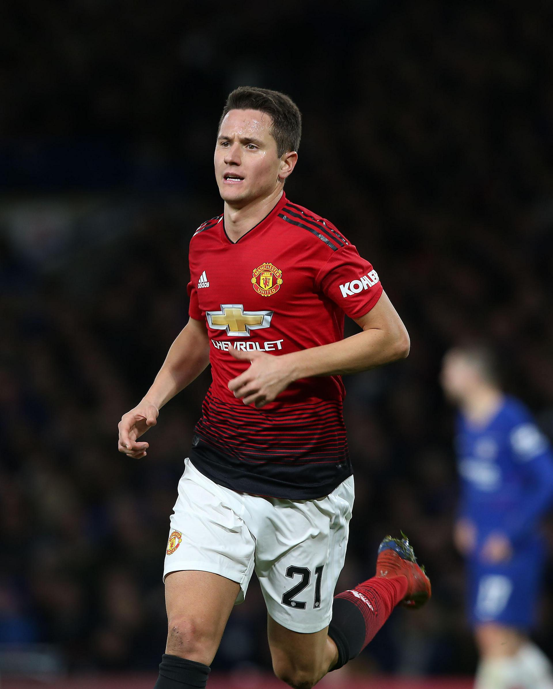 Ander Herrera in action.