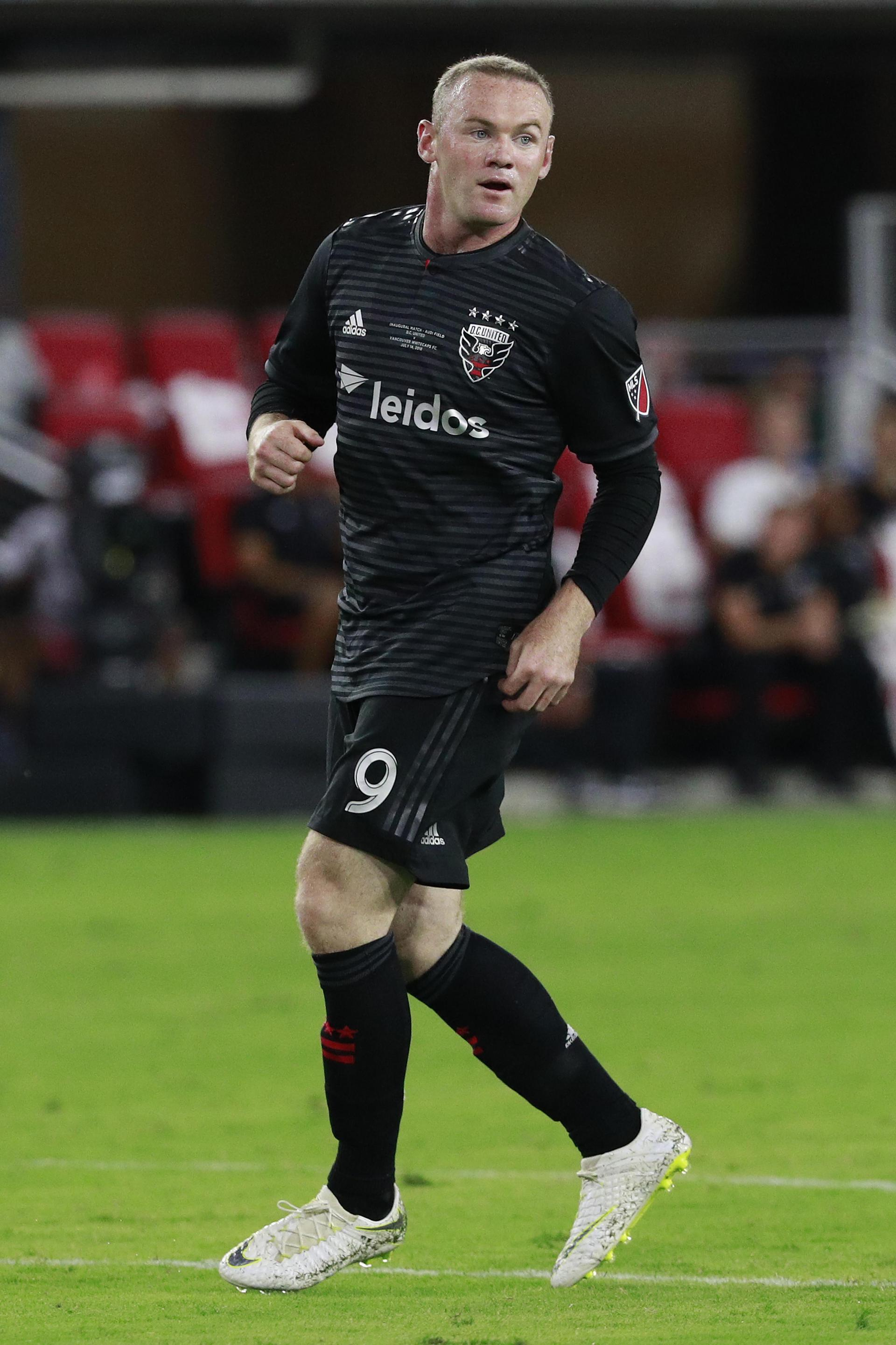 Wayne Rooney in action for DC United.,