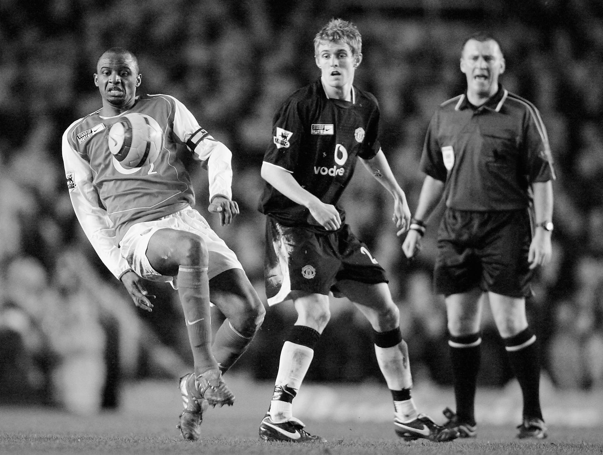 Darren Fletcher and Patrick Vieira.