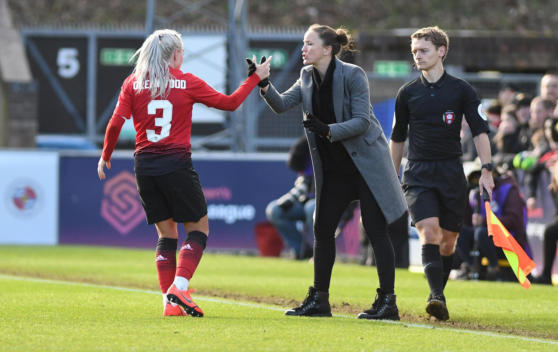 Alex Greenwood and Casey Stoney