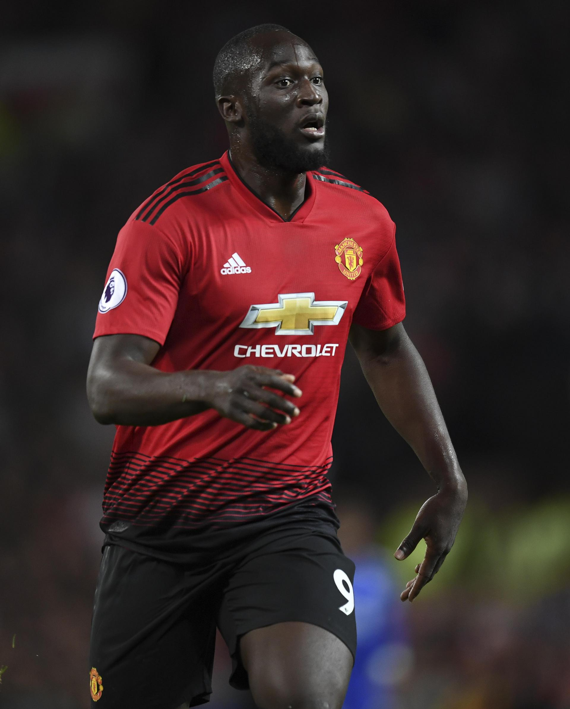 Romelu Lukaku starts on the bench against his old club Everton