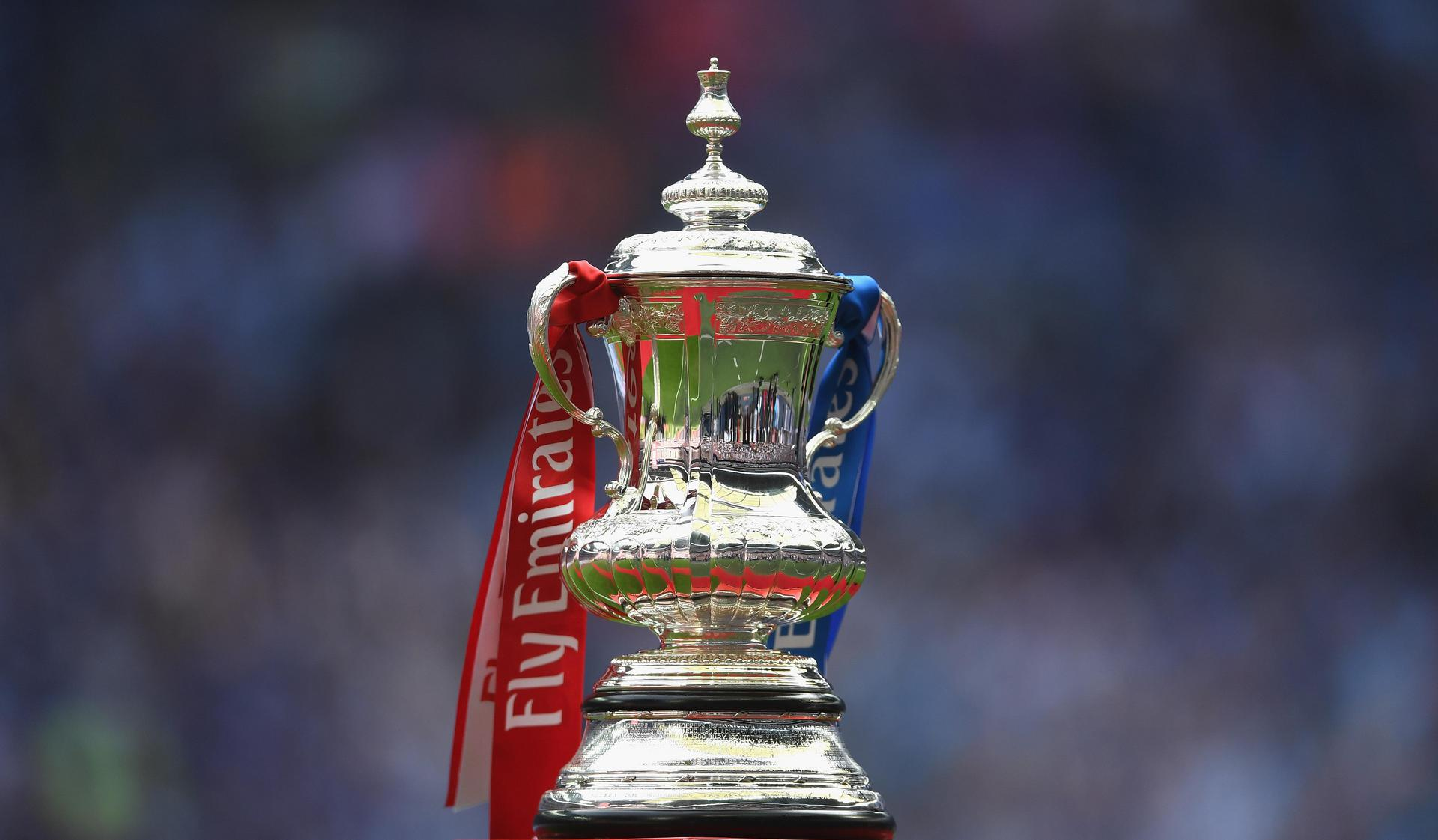 FA Cup trophy。。