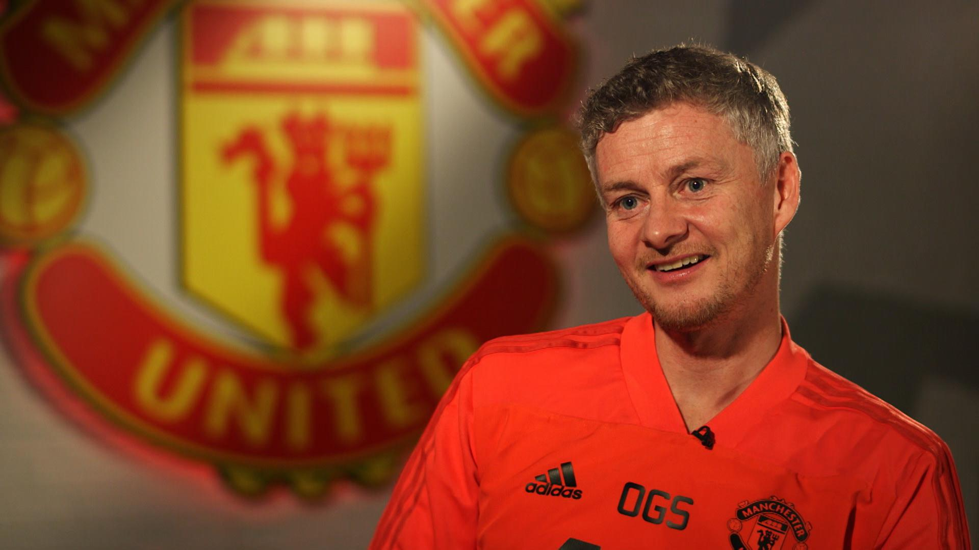 Ole Gunnar Solskjaer in his MUTV interview.