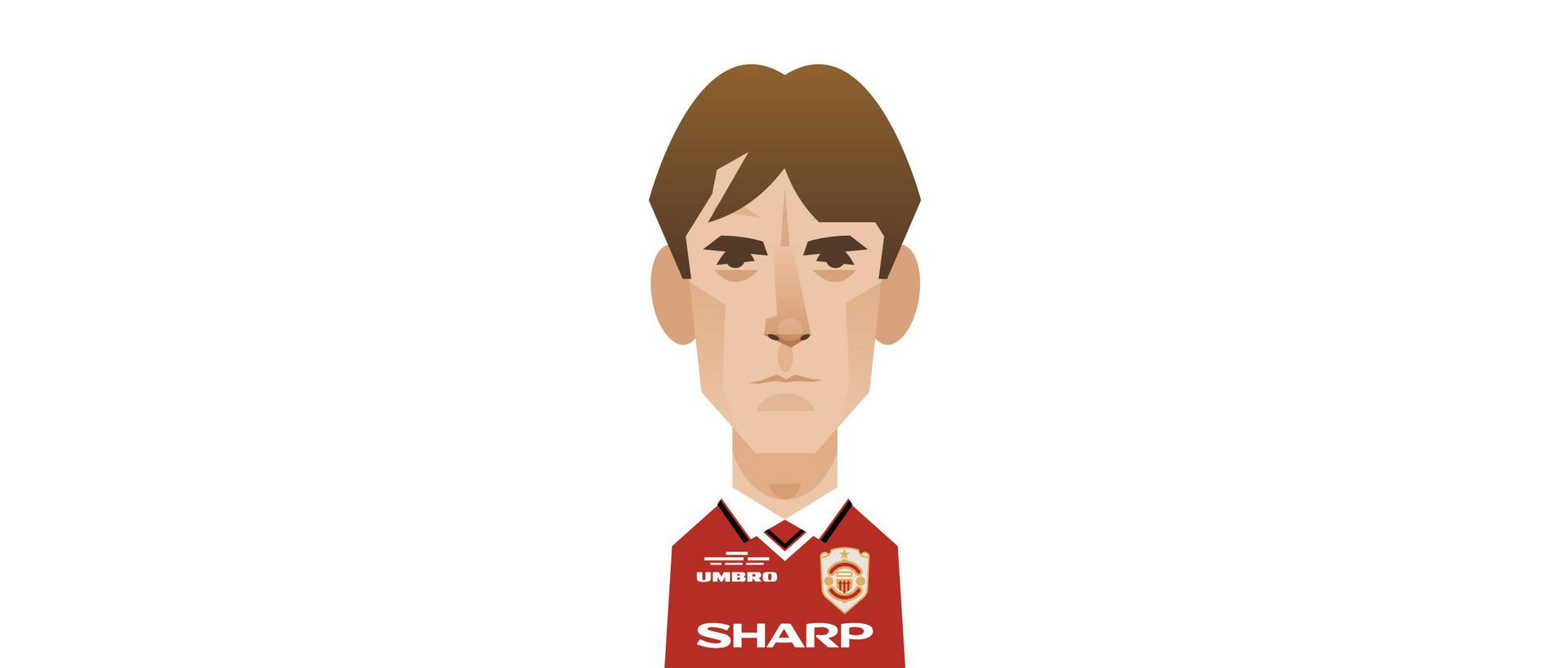 An illustration of Gary Neville.