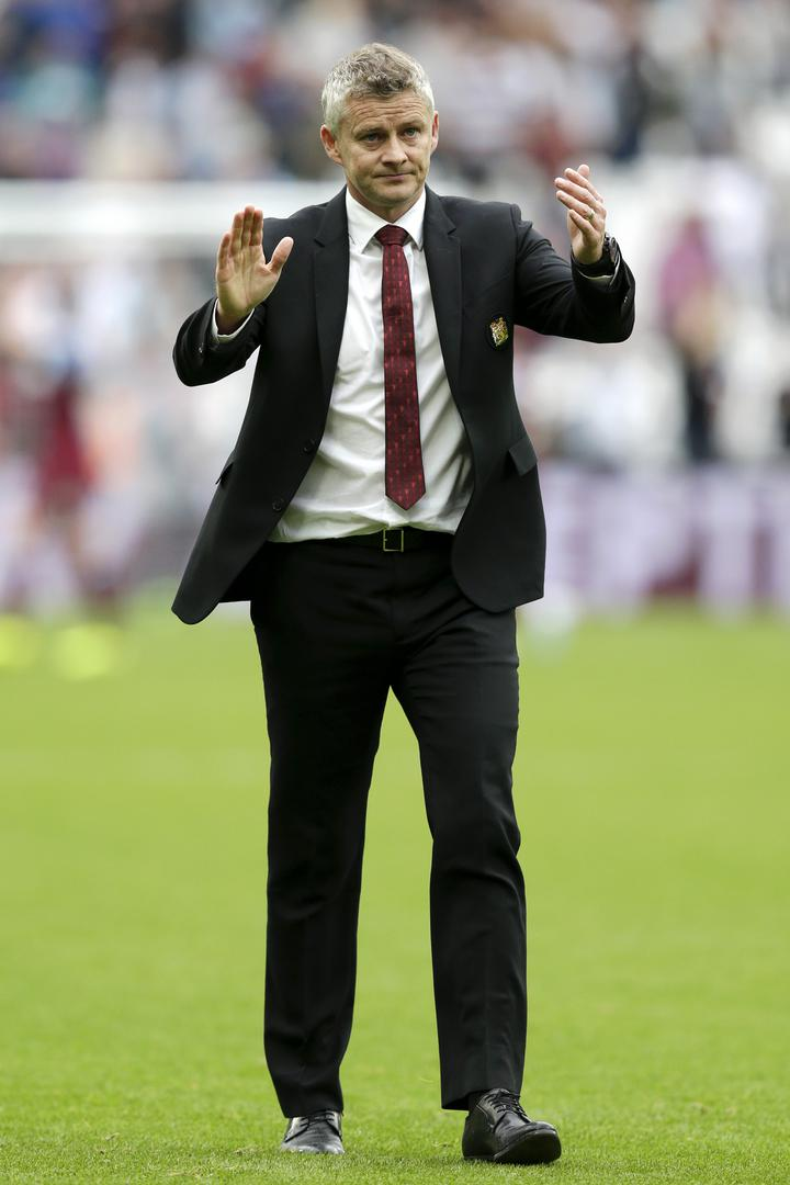 Ole Gunnar Solskjaer after Manchester United's 2-0 defeat to West Ham United.,