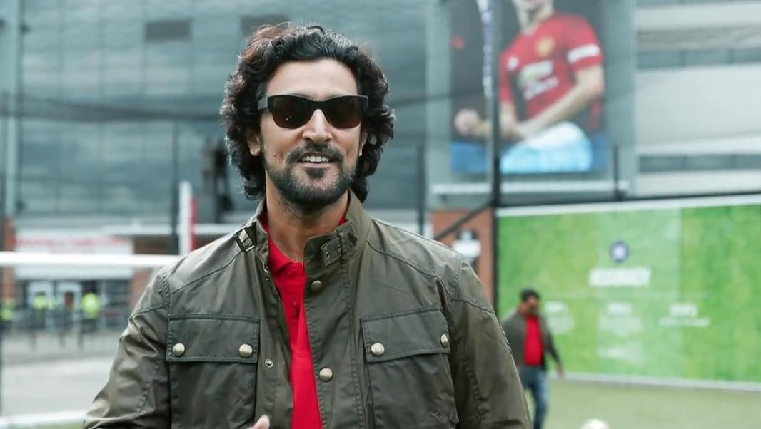 Kunal Kapoor at Old Trafford