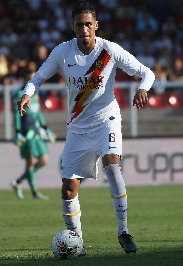 Chris Smalling in action for Roma against Lecce