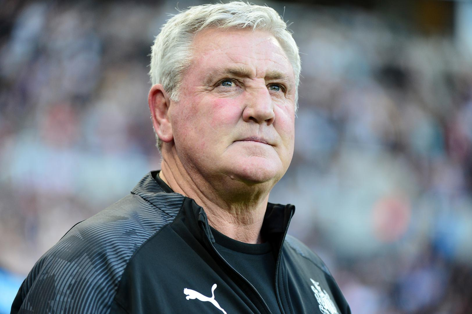 Newcastle United manager, Steve Bruce.