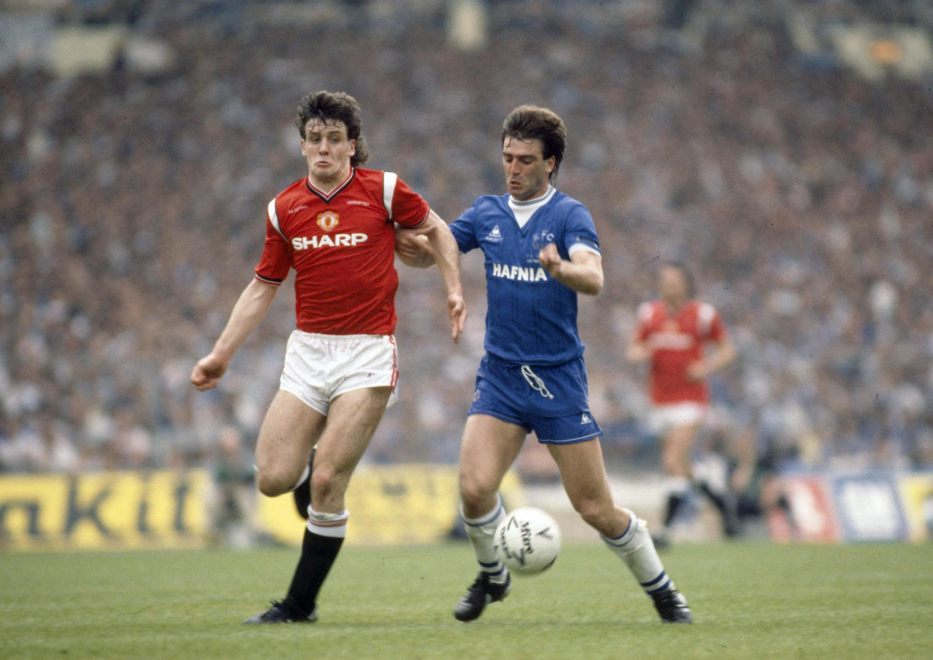 Gallery Of Images With Players Who Played For Manchester United And Everton Manchester United