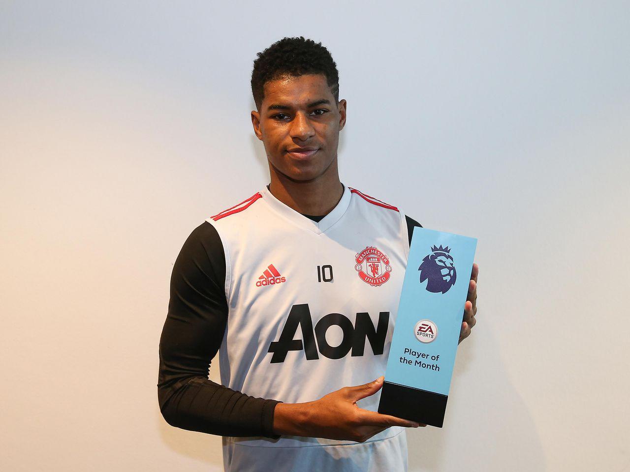 Man Utd Forward Marcus Rashford Nominated For Pfa Young Player Of The Year Award Manchester United