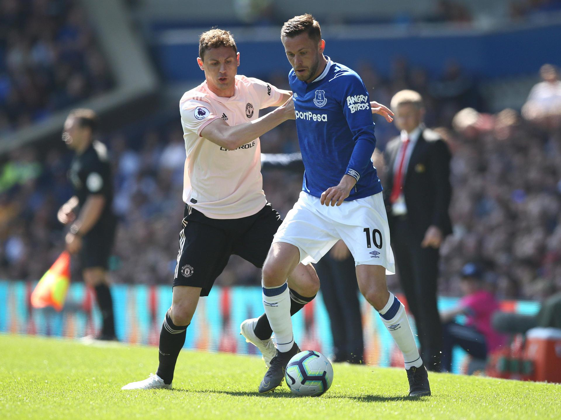 Everton ran out comfortable victors.,