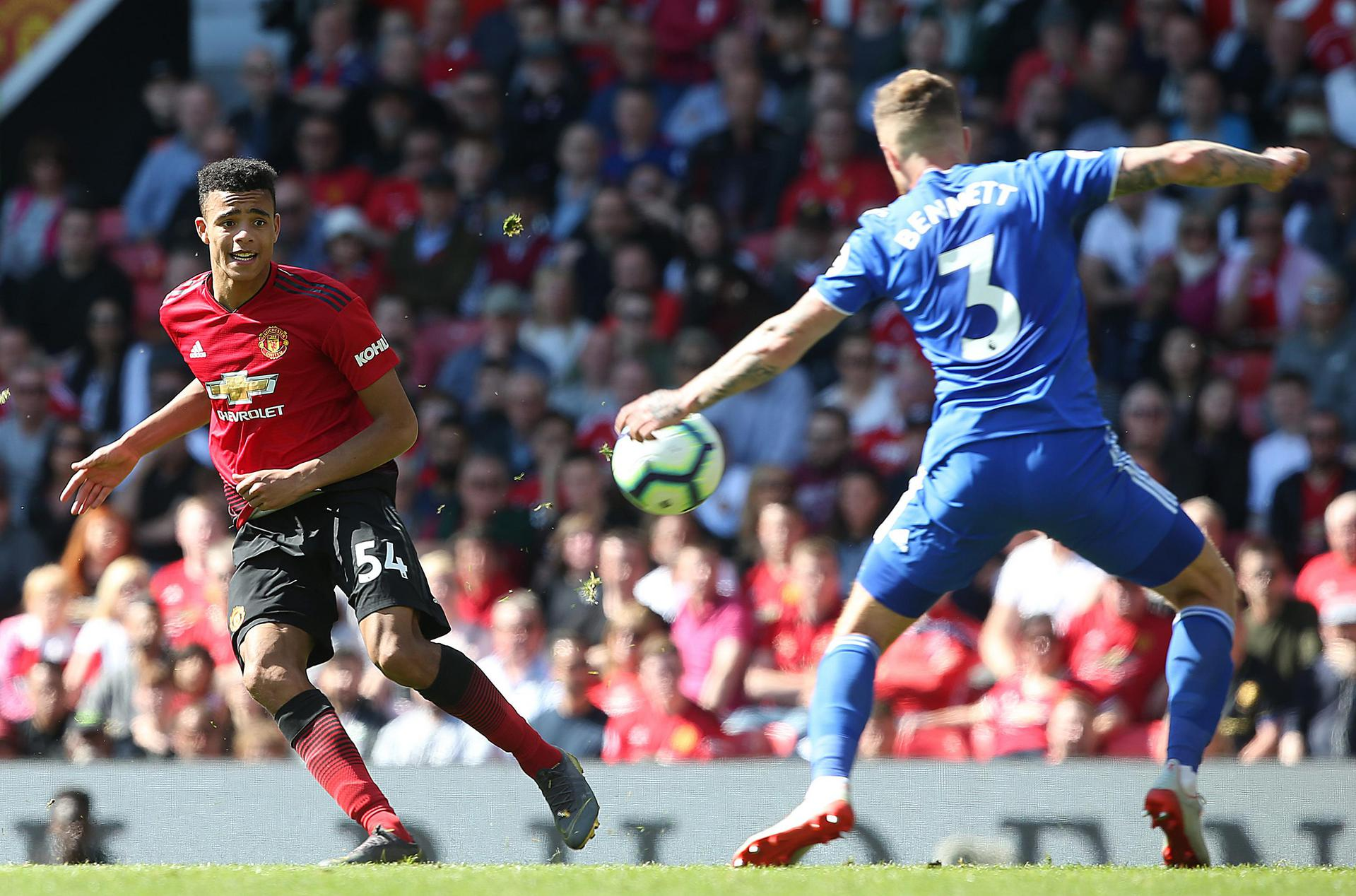 Mason Greenwood was a bright spot for United on the final day of the season