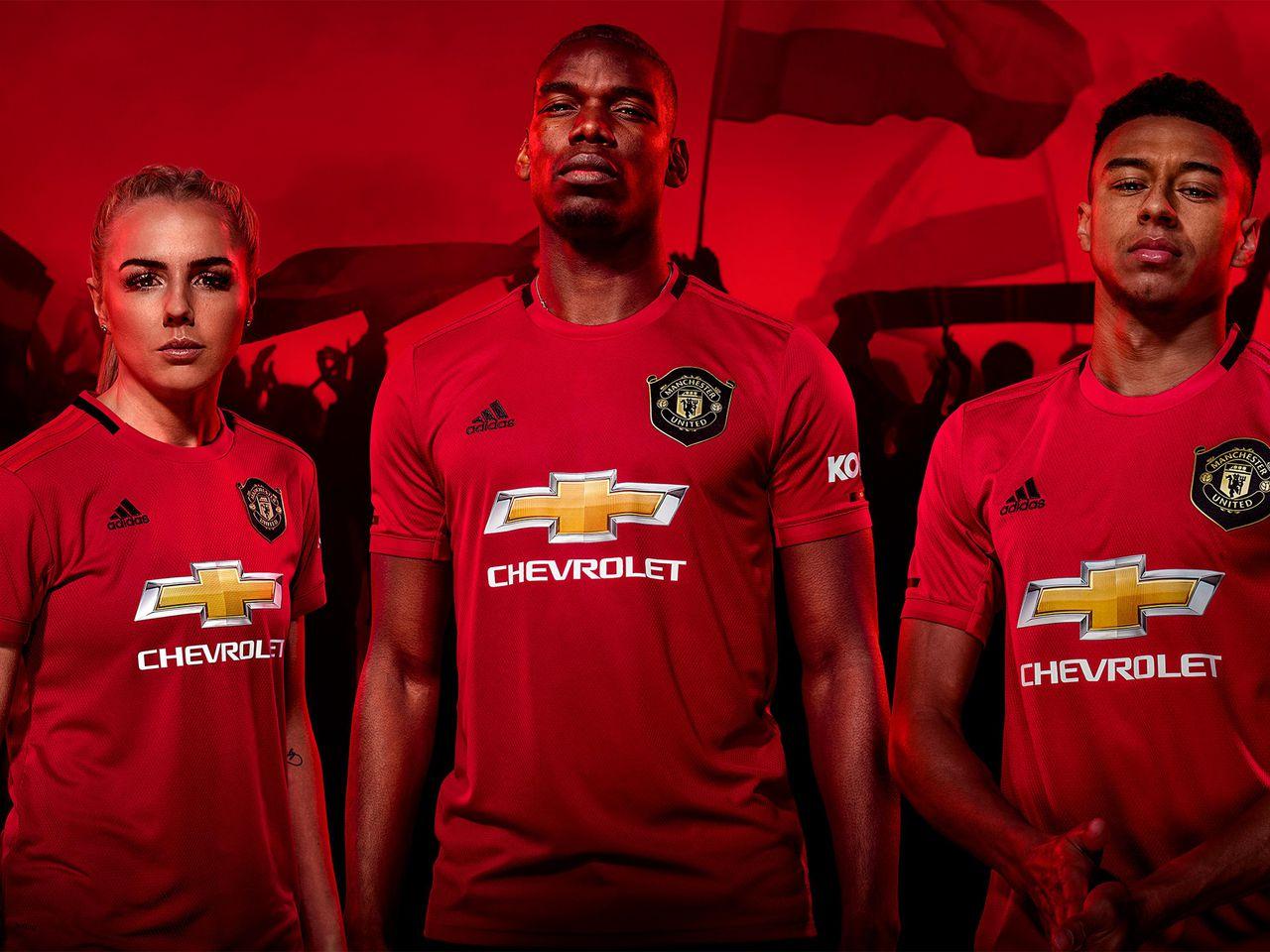 Revealed New Man Utd Home Kit For 2019 20 Manchester United