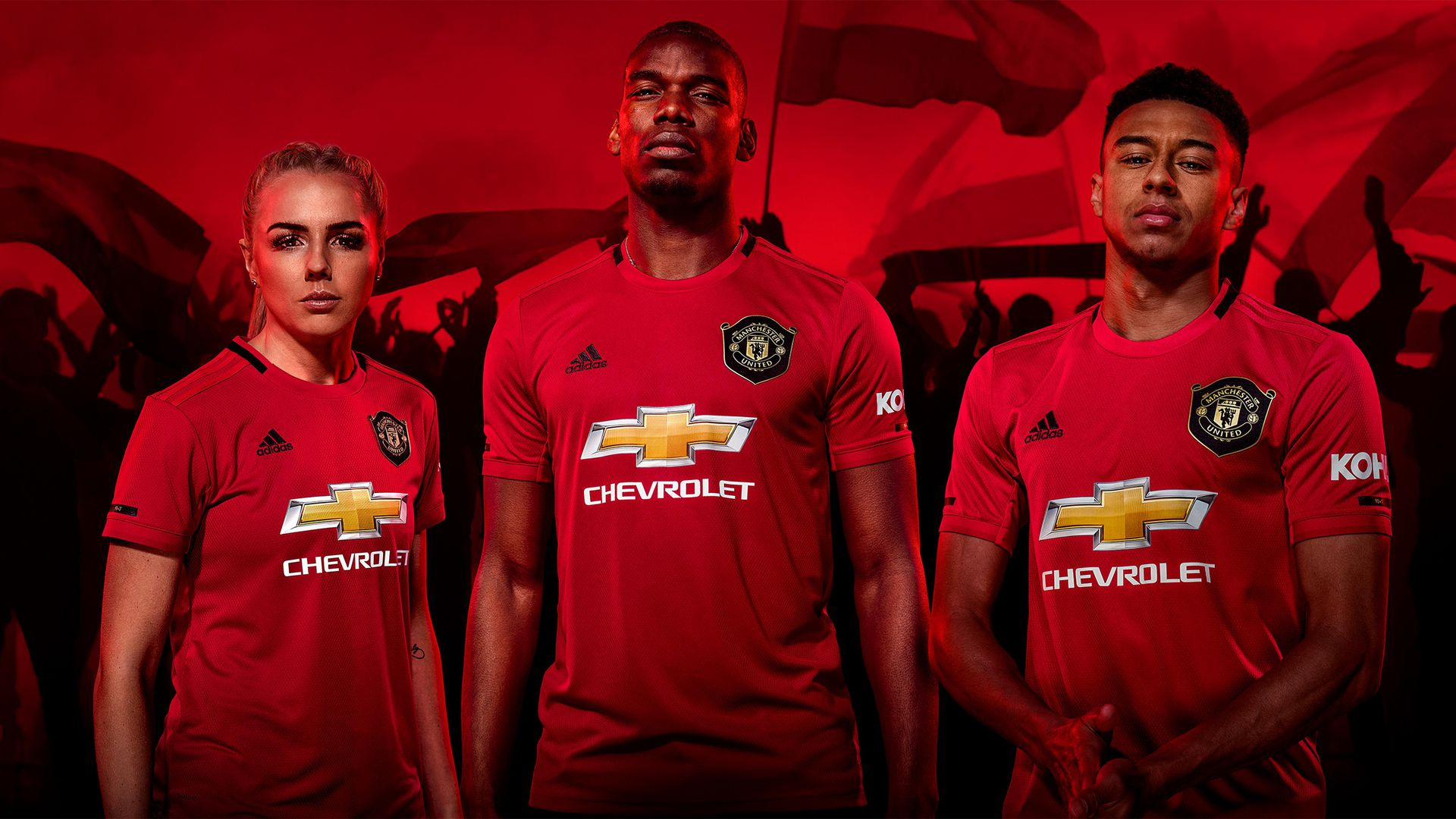 Revealed New Man Utd Home Kit For 2019 20 Manchester United