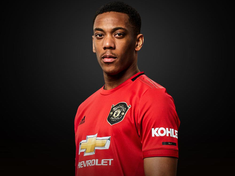 Anthony Martial Handed No 9 Shirt At Man Utd Again Manchester United