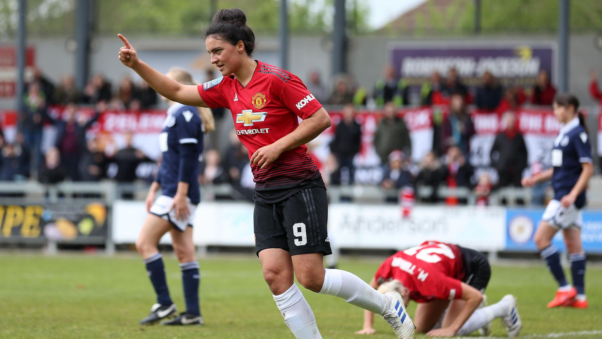 Jess Sigsworth goals for Man United Women in 2018 19 | Manchester ...