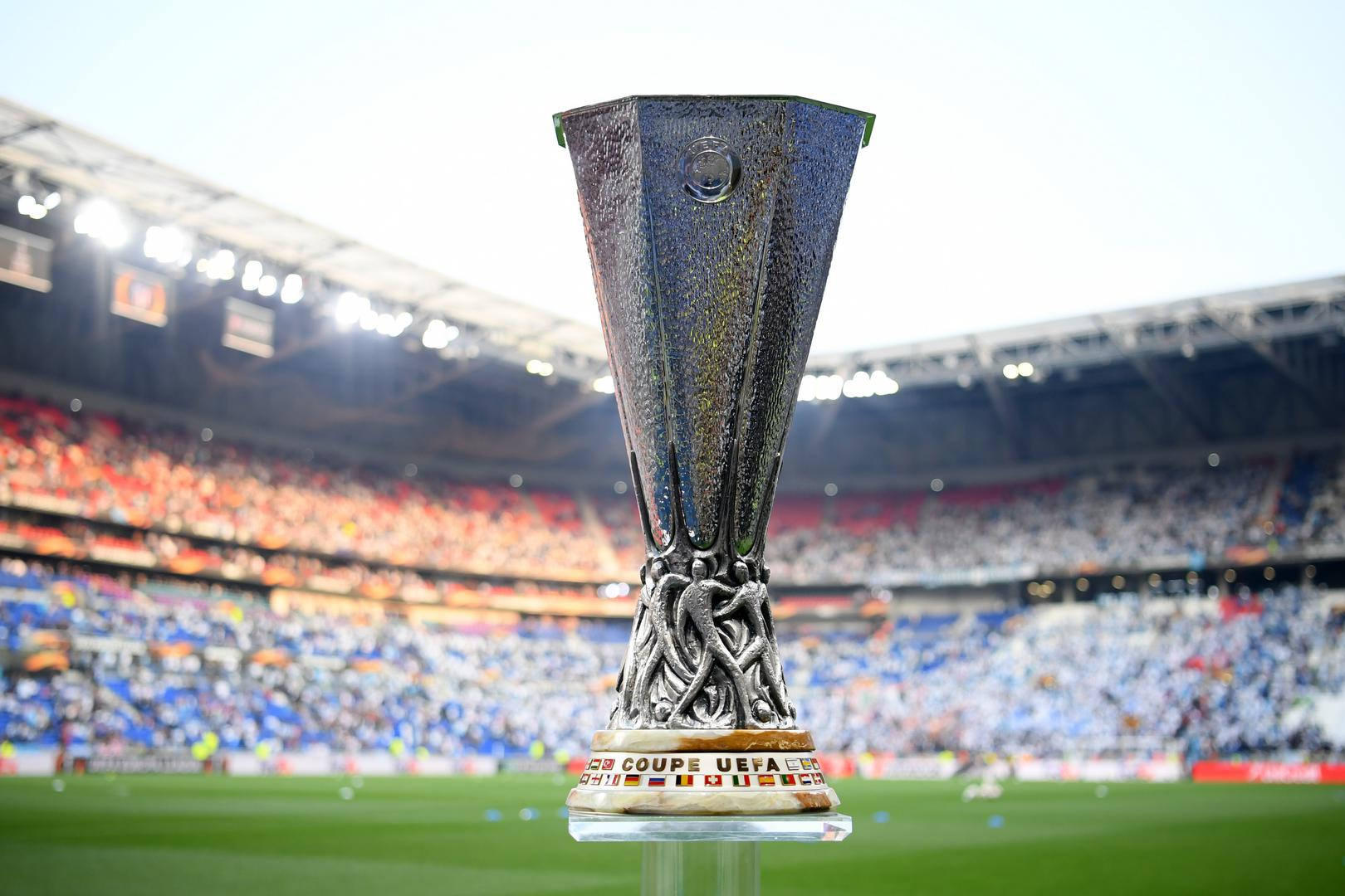 Europa League trophy.