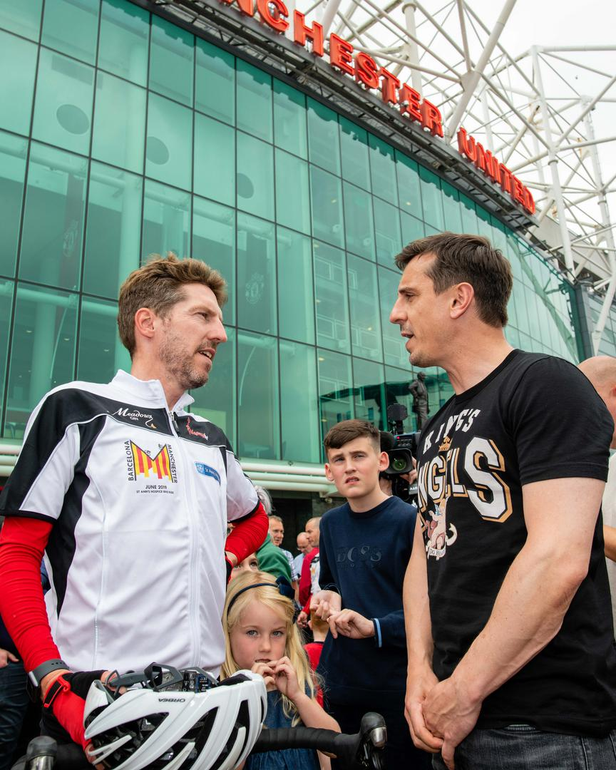 Andy Mitten and Gary Neville.。。