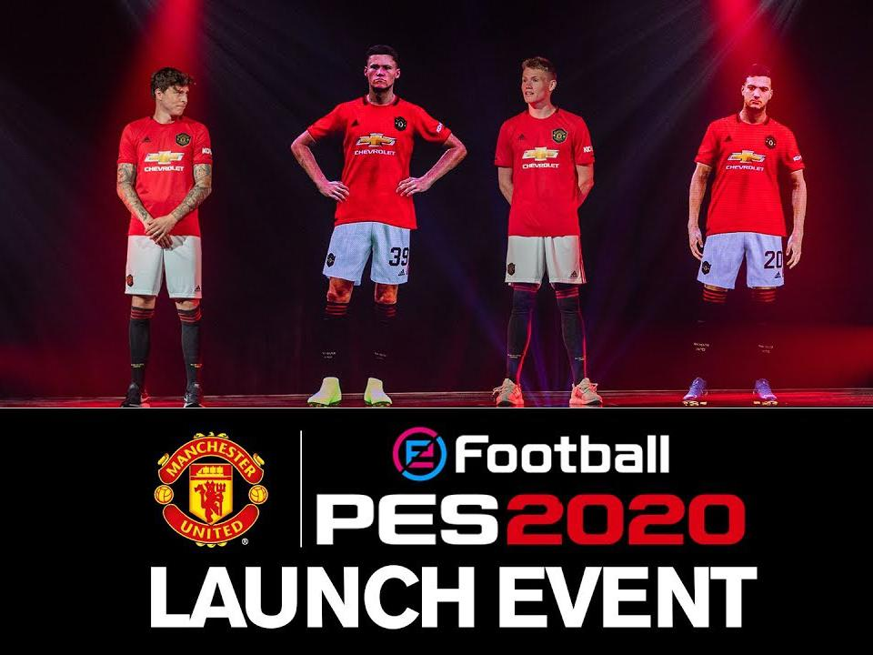 Man Utd Teams Up With Konami On New Pes 2020 Football Video Game Manchester United