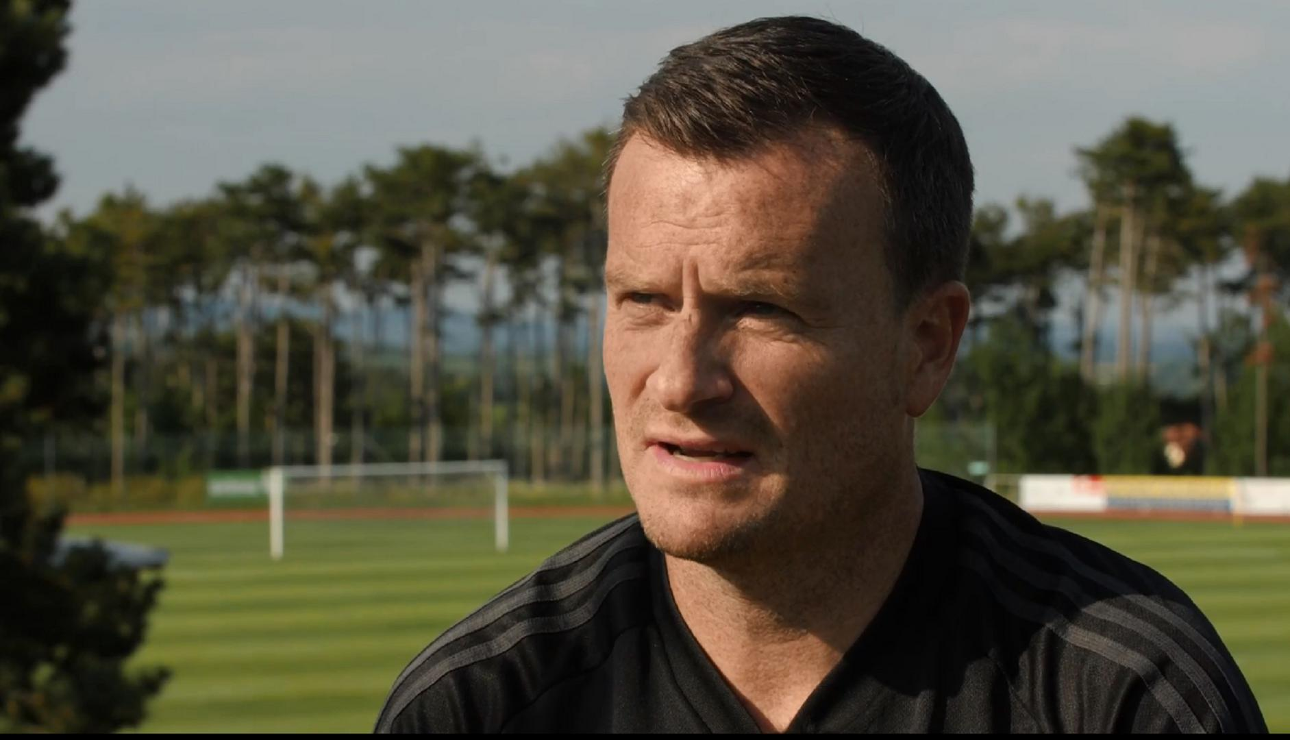 Neil Ryan speaks to MUTV at the Austrian training camp.
