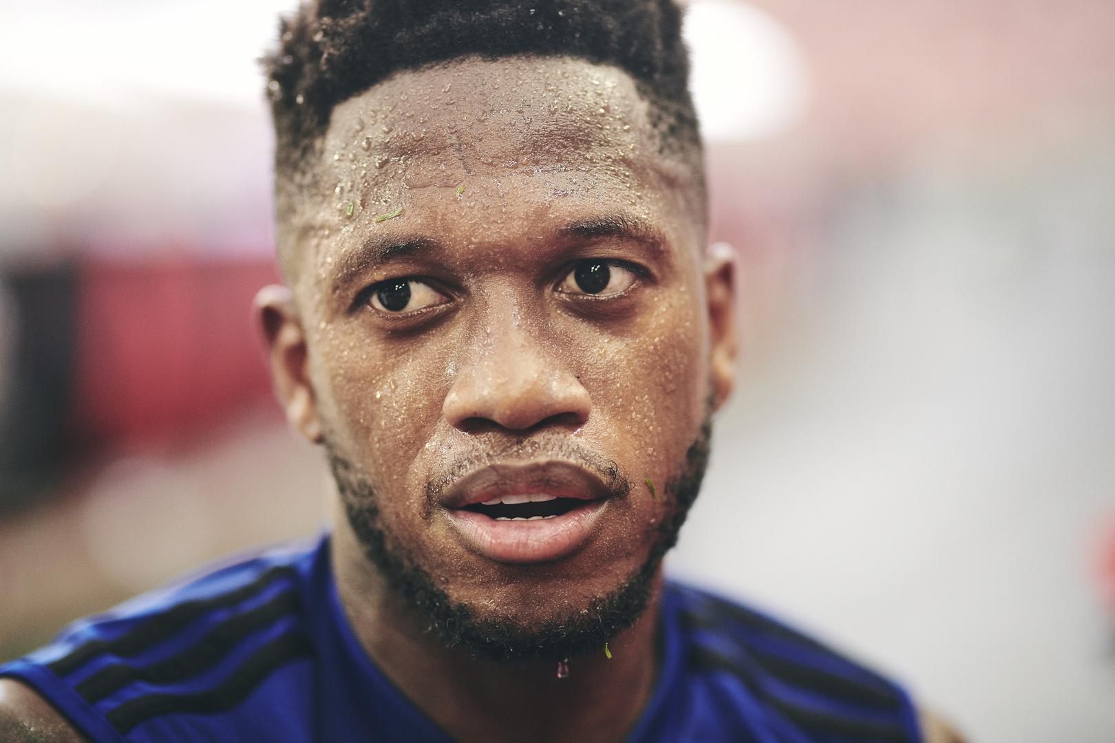 Man United midfielder Fred.