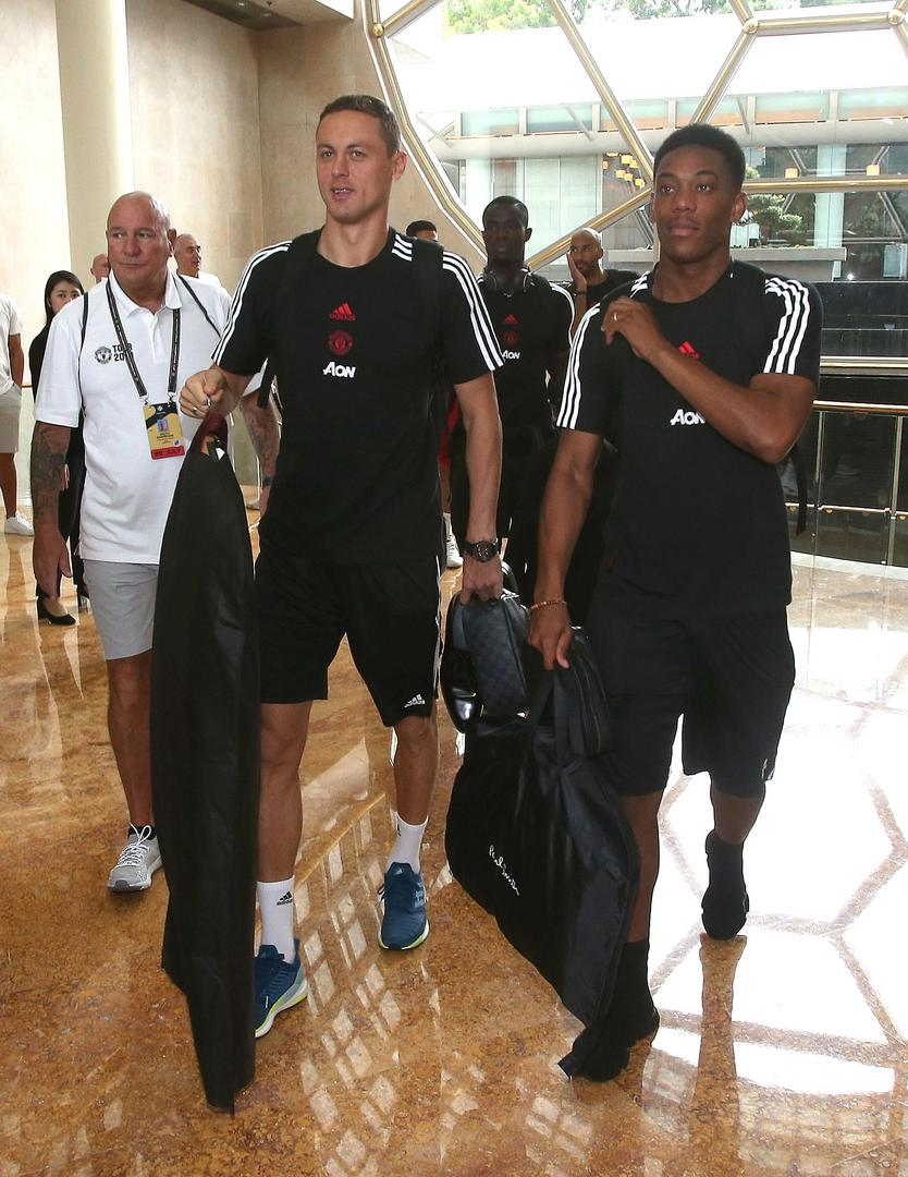 Nemanja Matic et Anthony Martial