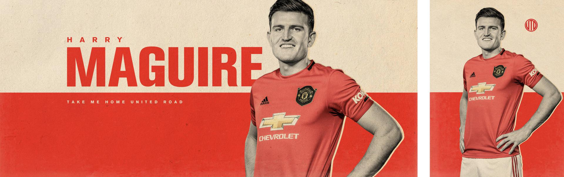 Harry Maguire is a Red!!