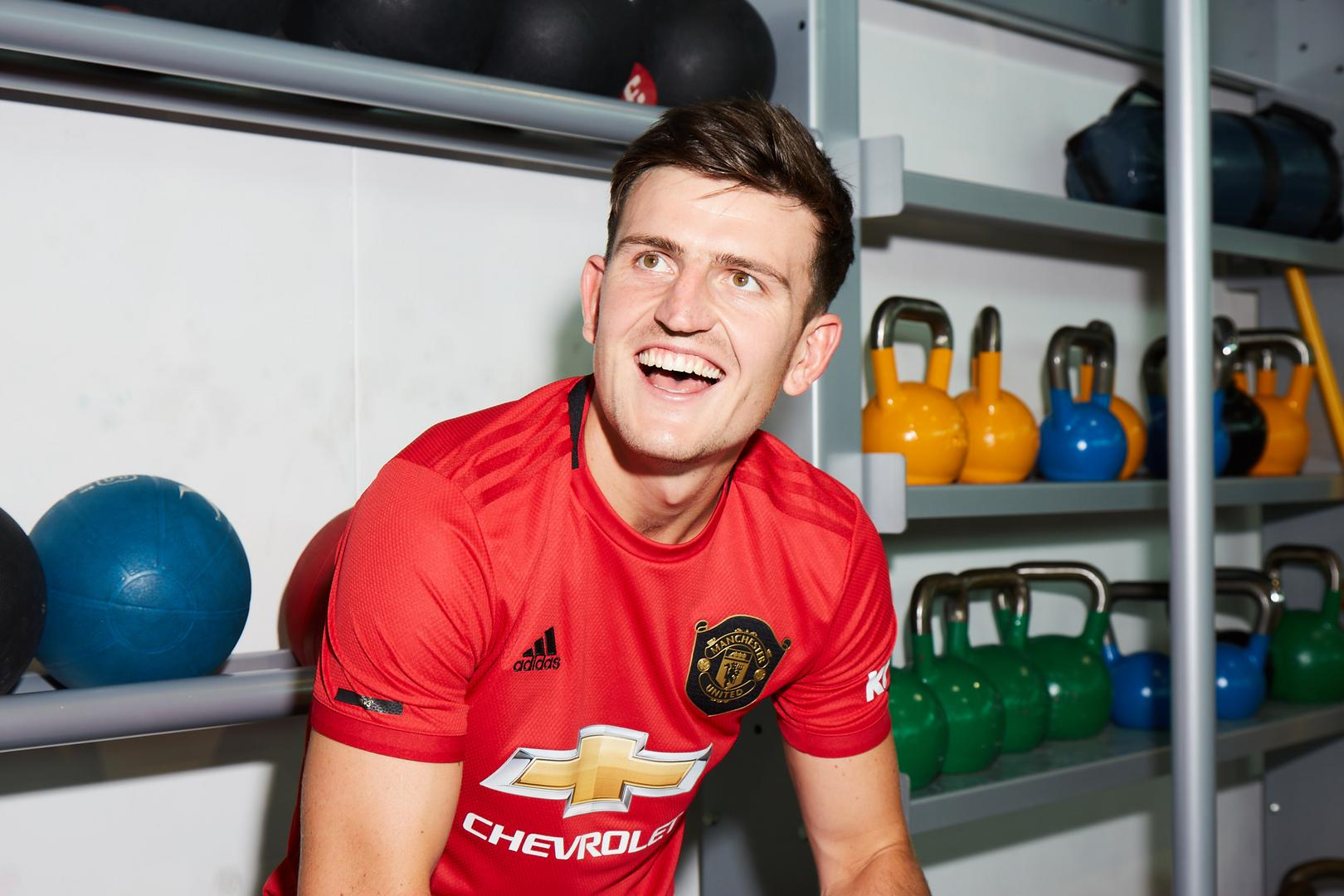 Harry Maguire is delighted to join United.))