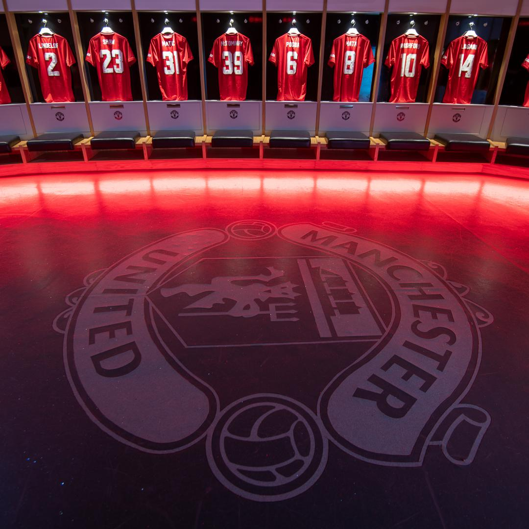 Inside The Old Trafford Home Dressing Room Before The New Season Manchester United