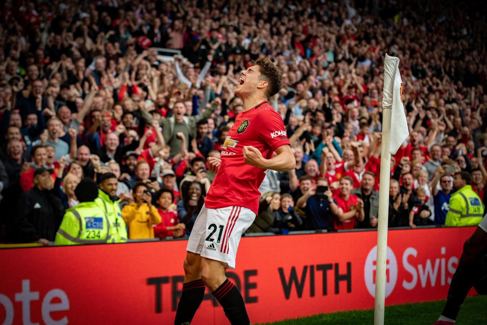 El momento inolvidable de Daniel James.