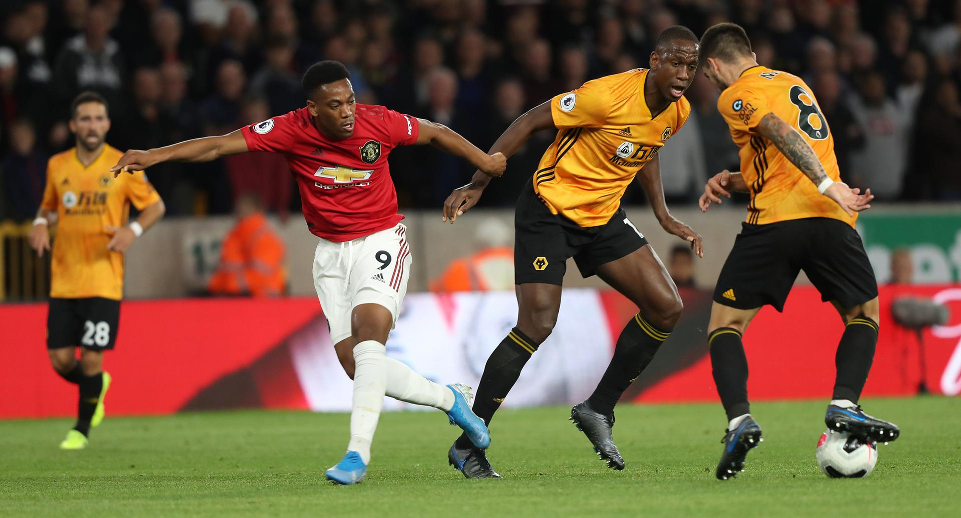 Martial vs Wolves