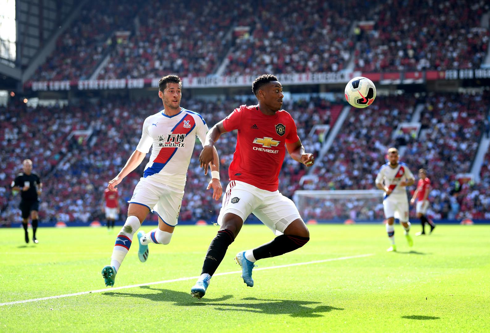 Anthony Martial on the ball.
