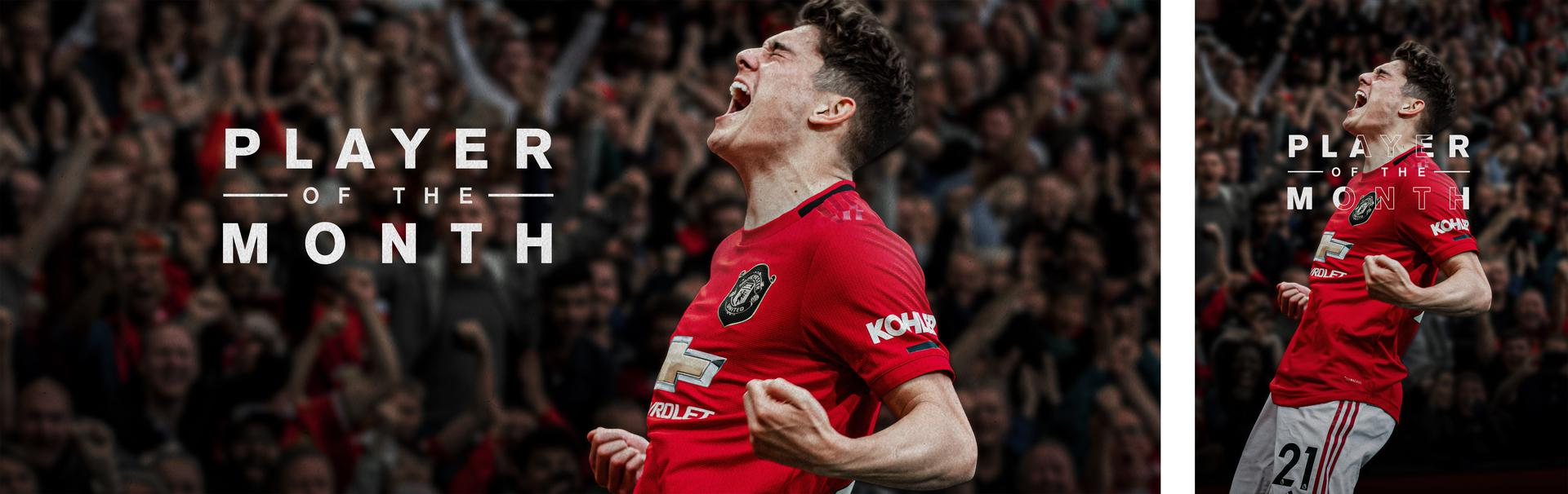 Daniel James Player of the Month graphic!