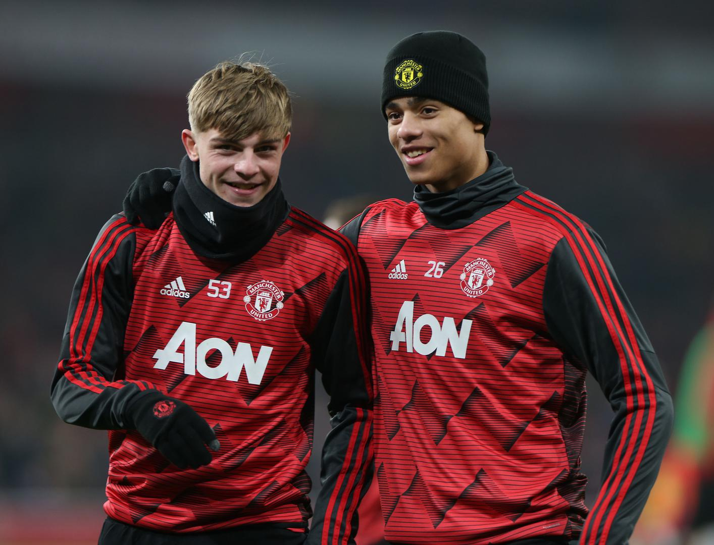 Brandon Williams and Mason Greenwood