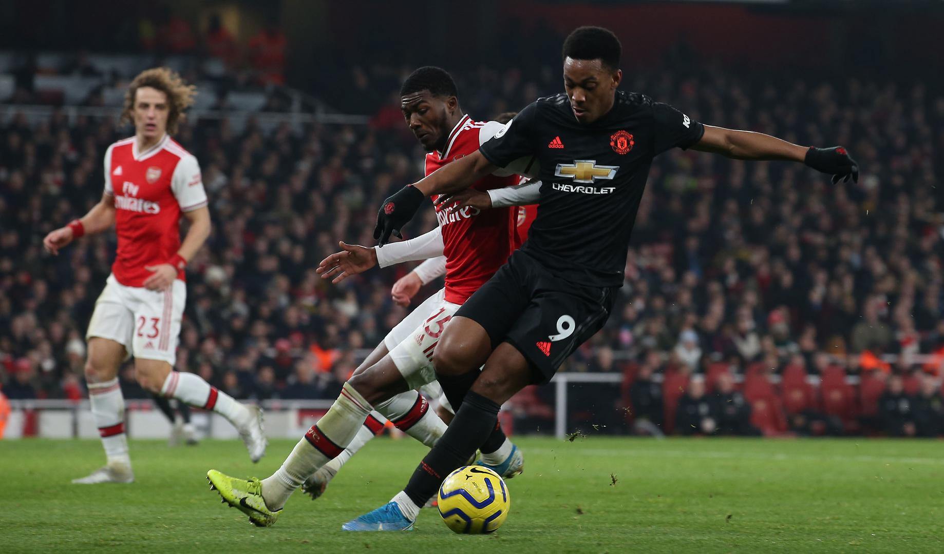 Anthony Martial vs. Arsenal