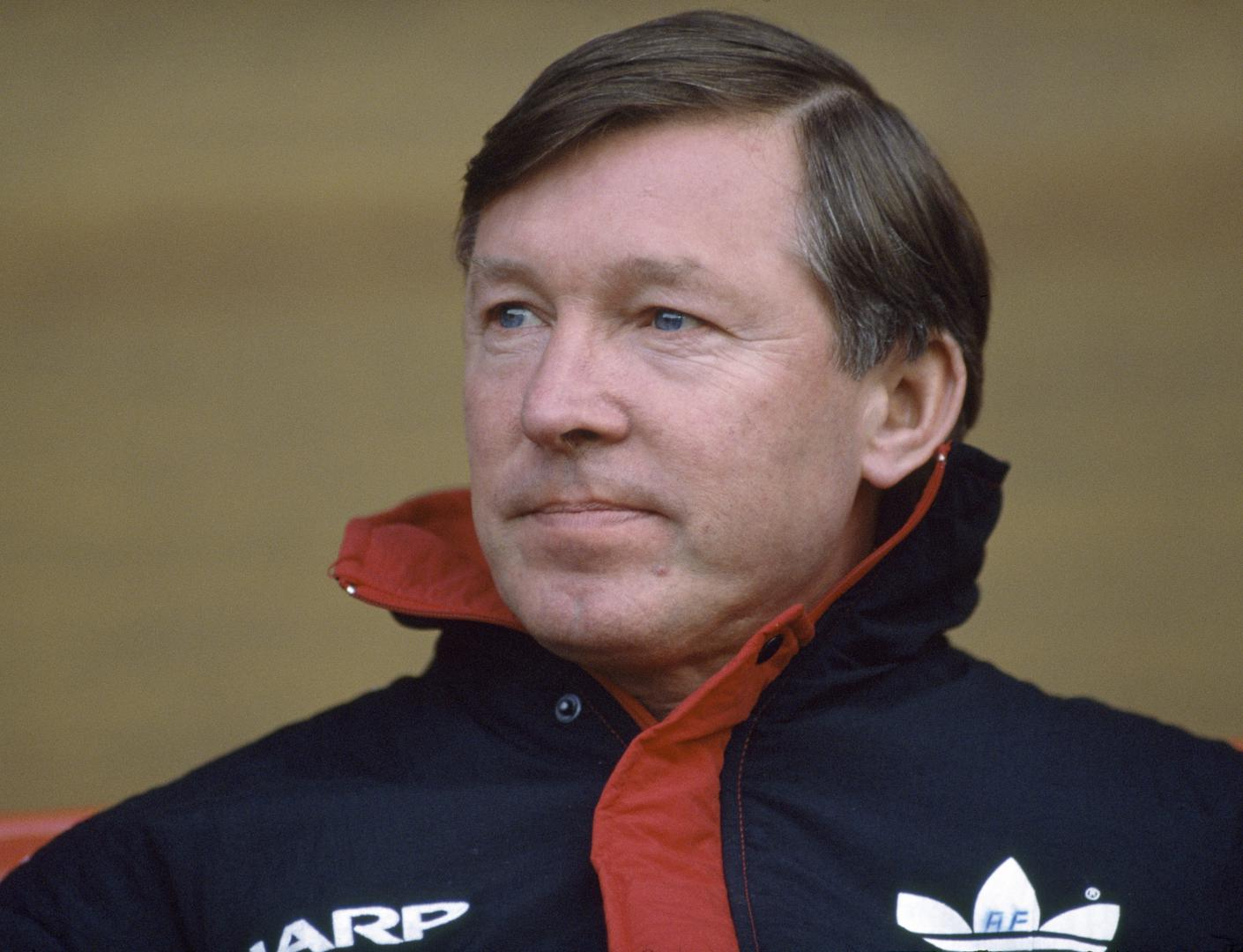 Alex Ferguson during the 1989/90 season.