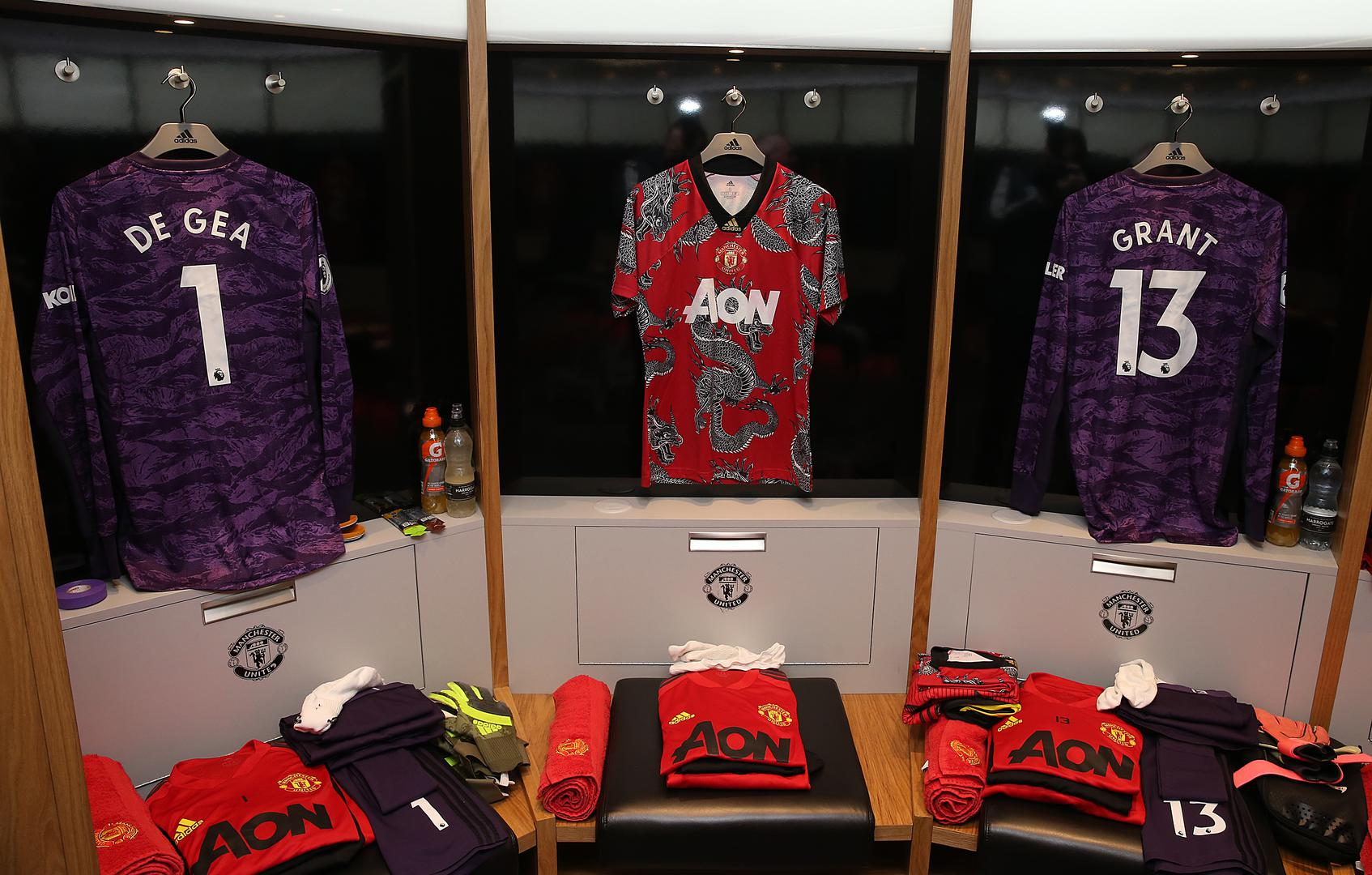 Inside The Dressing Room Ahead Of Manchester United V Norwich Manchester United