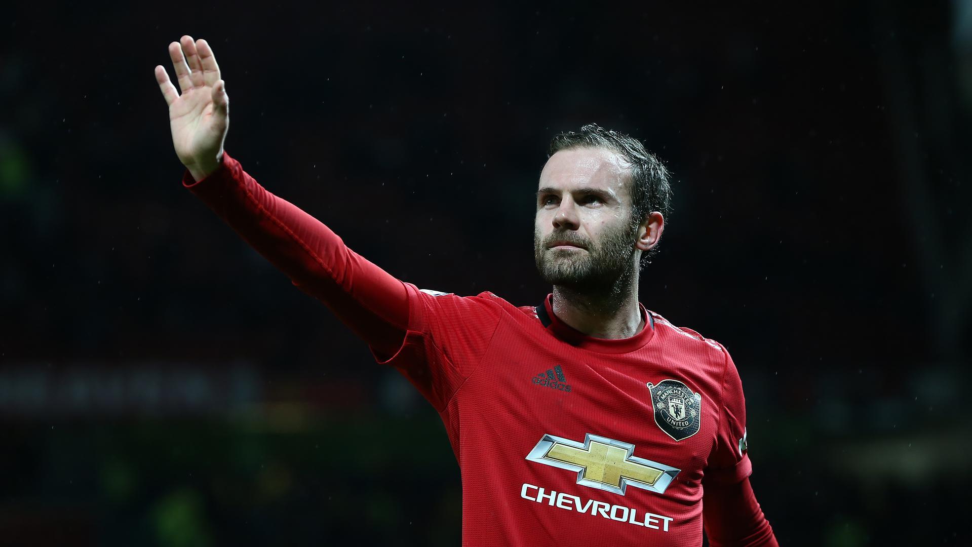Juan Mata's Praise For United Strikers